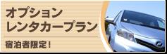 オプションレンタカープラン 宿泊者限定!
